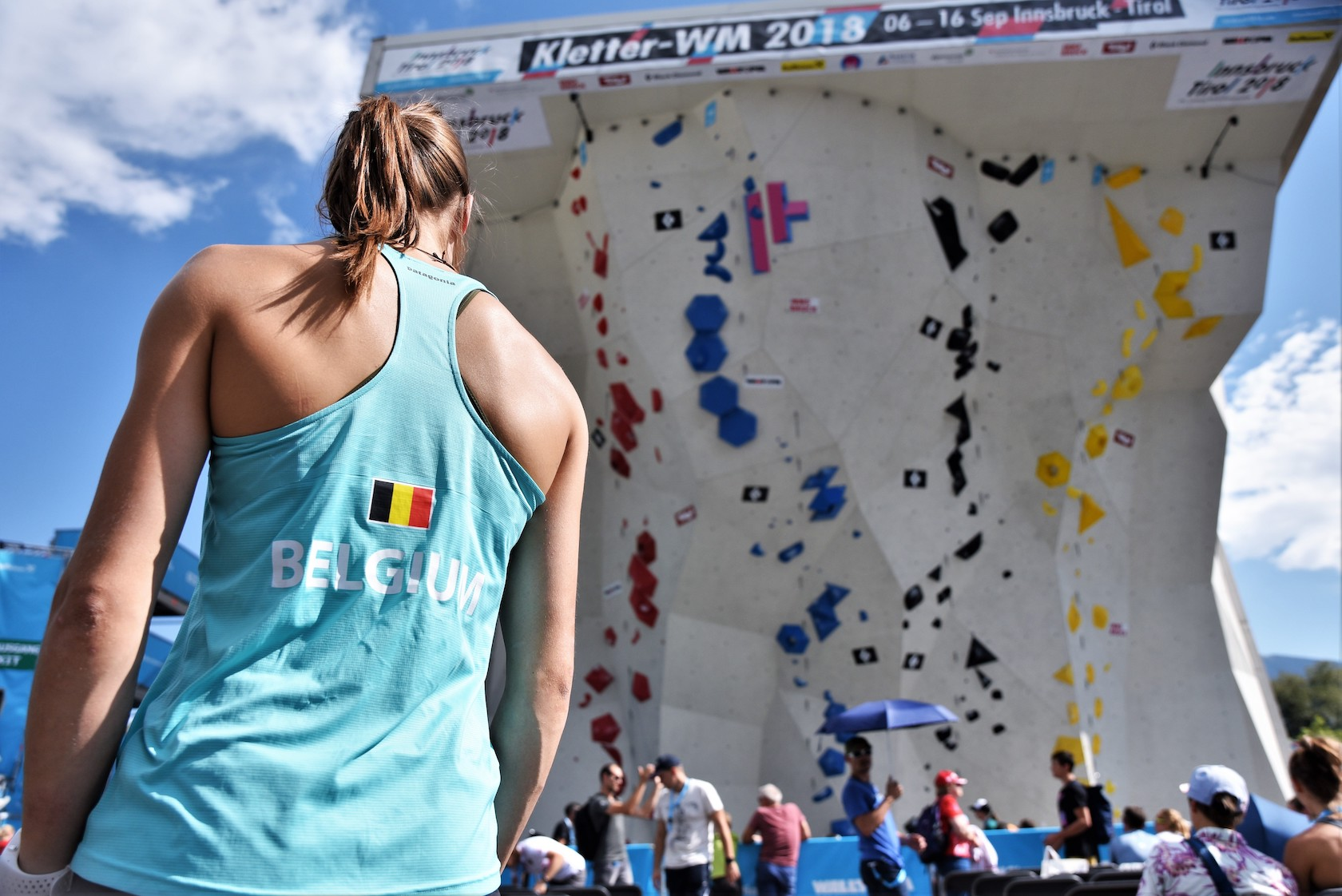 Club Alpine Belge, Belgian Climbing Team, WC Innsbruck 2018 ©Michaël Timmermans